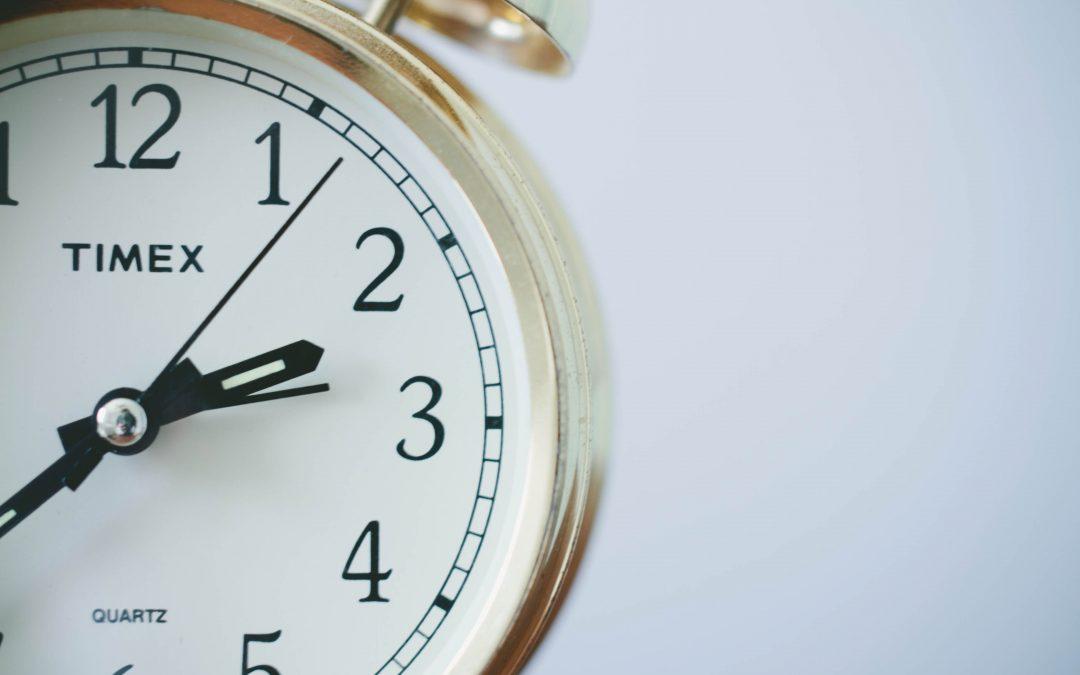 Control del tiempo de trabajo y horas extra
