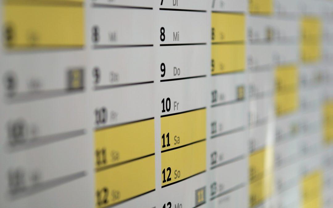 Calendario de obligaciones ante Hacienda y Protectorado – Segundo Trimestre