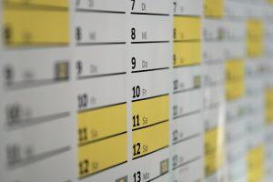 Calendario segundo trimestre obligaciones 2017
