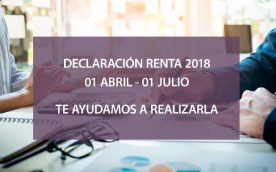 Declaración de la Renta 2018 en la asesoría GP7