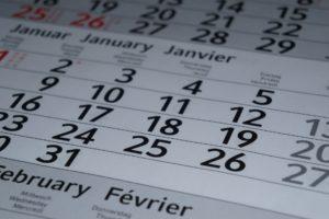 obligaciones calendario primer trimestre 2020