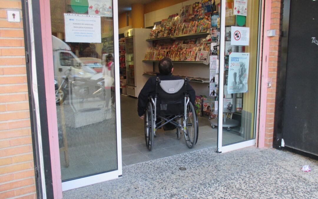 Convocadas ayudas para la accesibilidad universal y la eliminación de barreras en el pequeño comercio