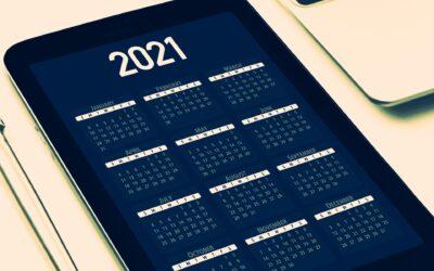 Calendario de obligaciones 2021 | Primer trimestre